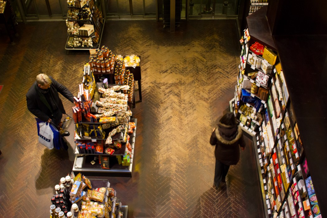 Looking for a gift in Vienna