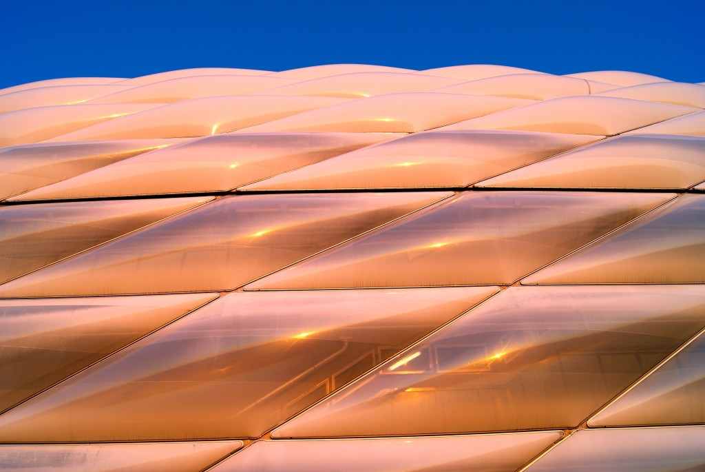 Allianz-Arena 4 - Eine irre Architektur