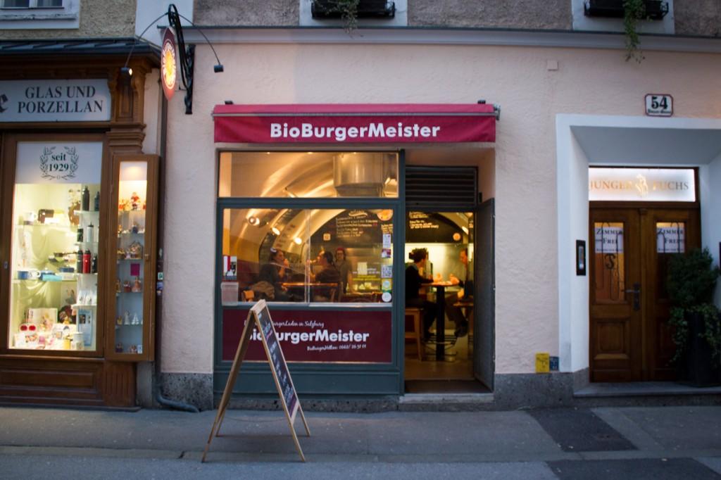 Restaurant Salzburg BioBurgermeister