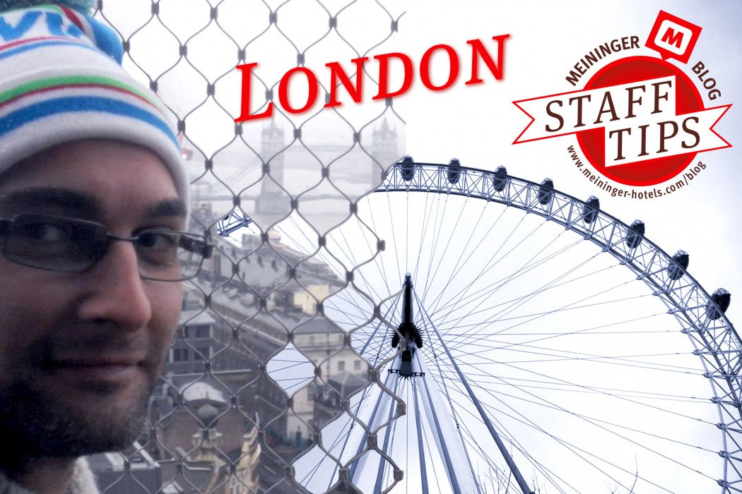 staff tips: Davide from London