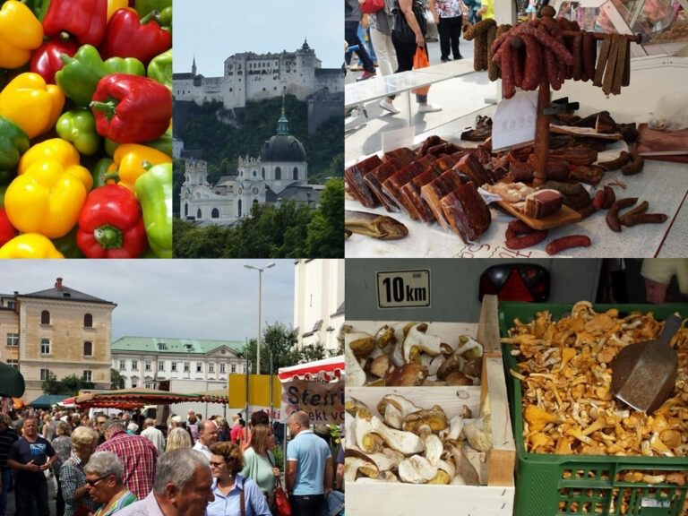 Tips for Salzburg: markets