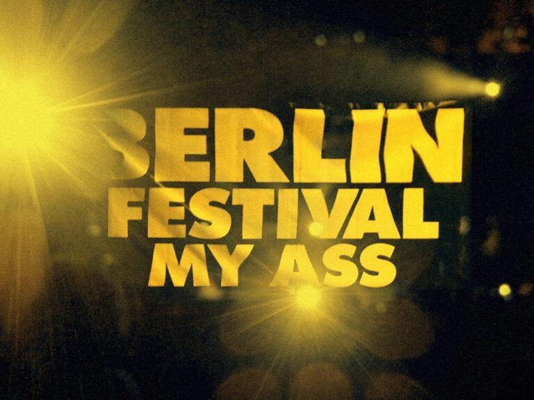 Berlin Festival – No wrist, no fun