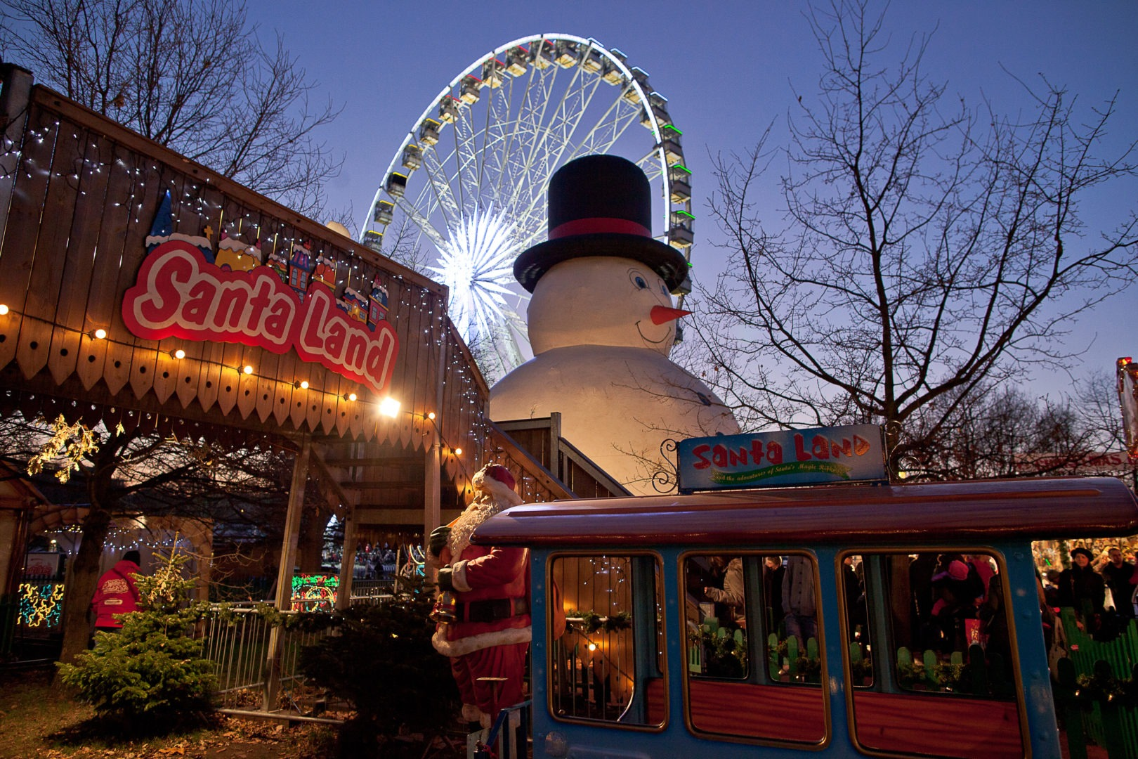 London Christmas Market Winter Wonderland