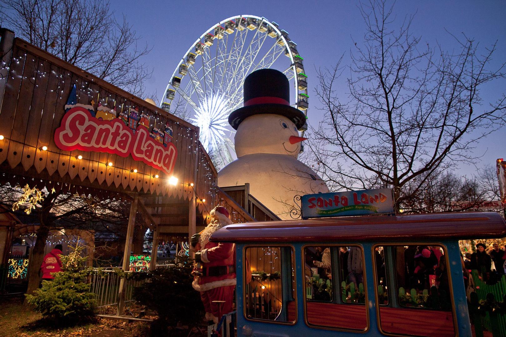 Weihnachtsmarkt London Winter-Wonderland