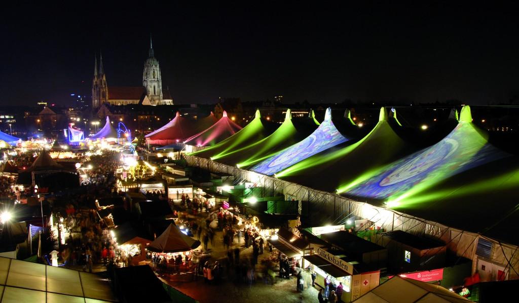 Tollwood Winterfestival in München