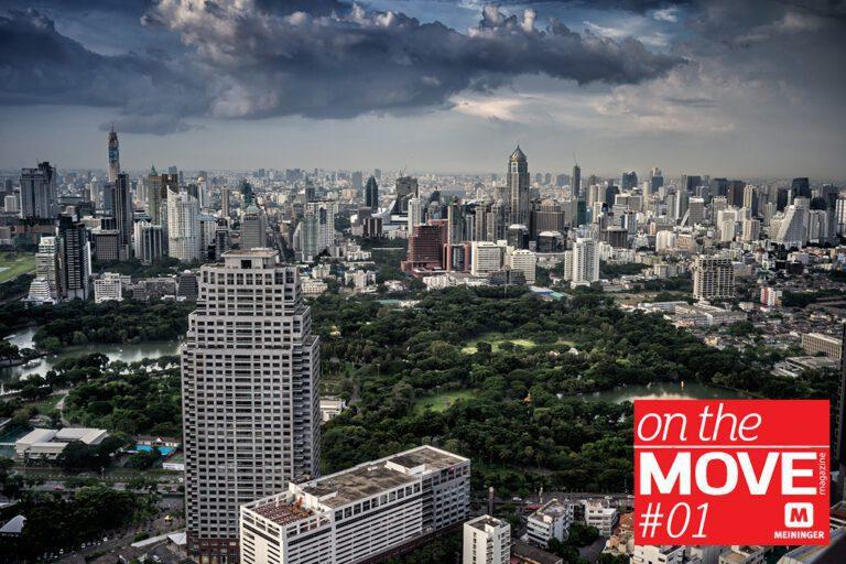 Bangkok - das geschäftige Treiben einer Großstadt