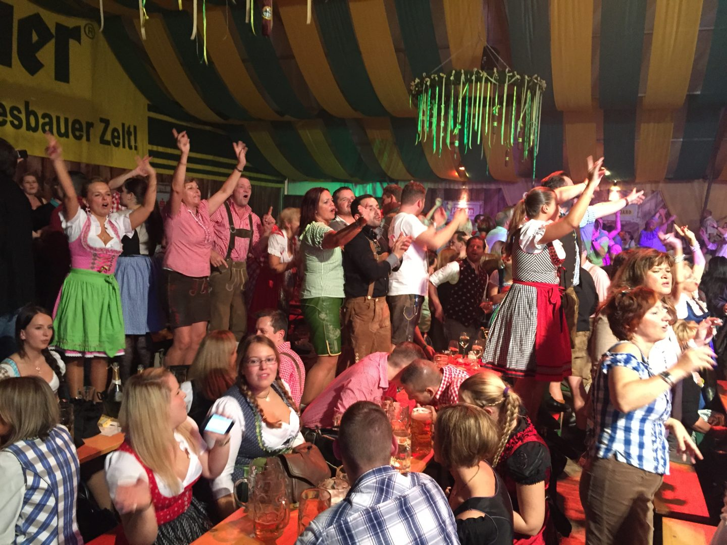 More dancing Wiener Wiesn Fest