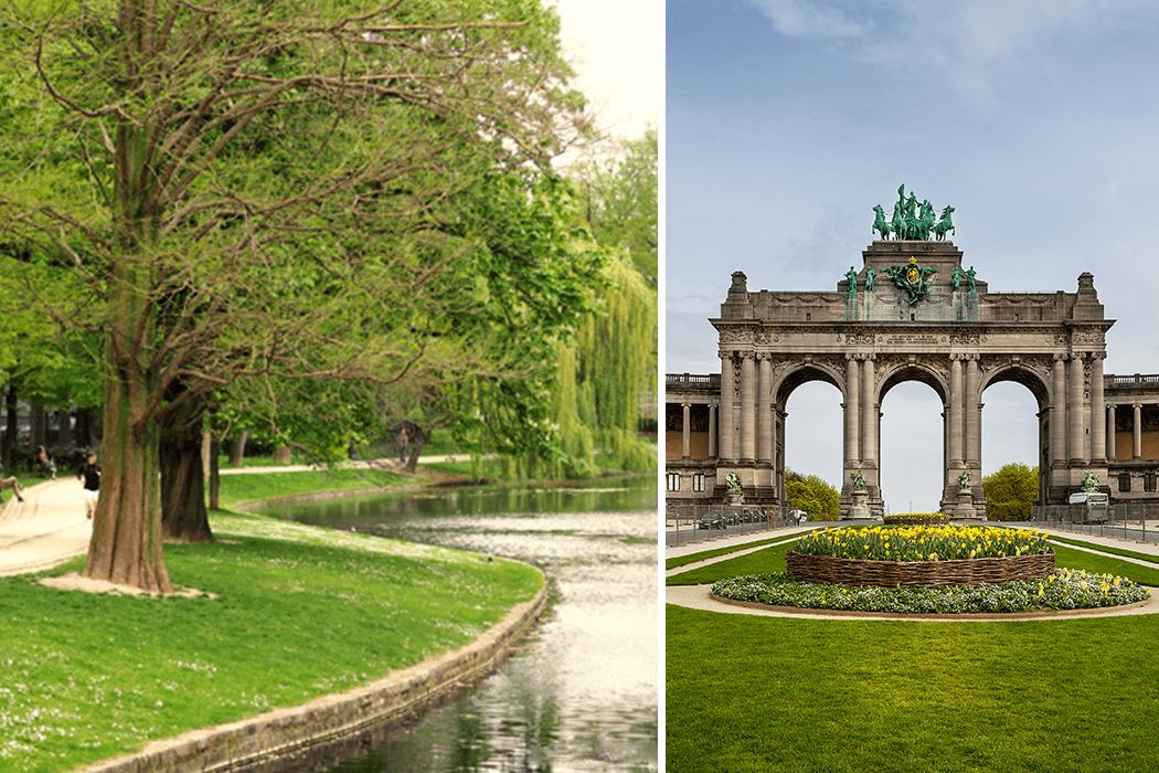 Summer in Brussels: Beautiful parks in the city