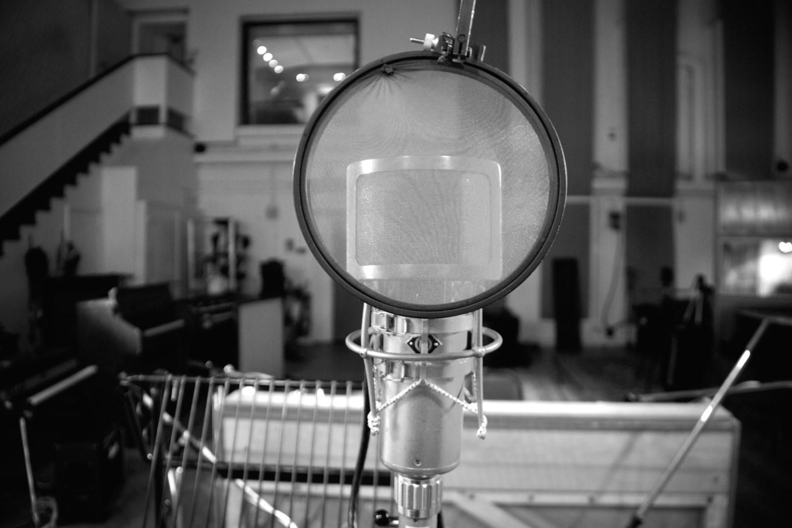 Original Neumann U47 Microphone in Studio 2