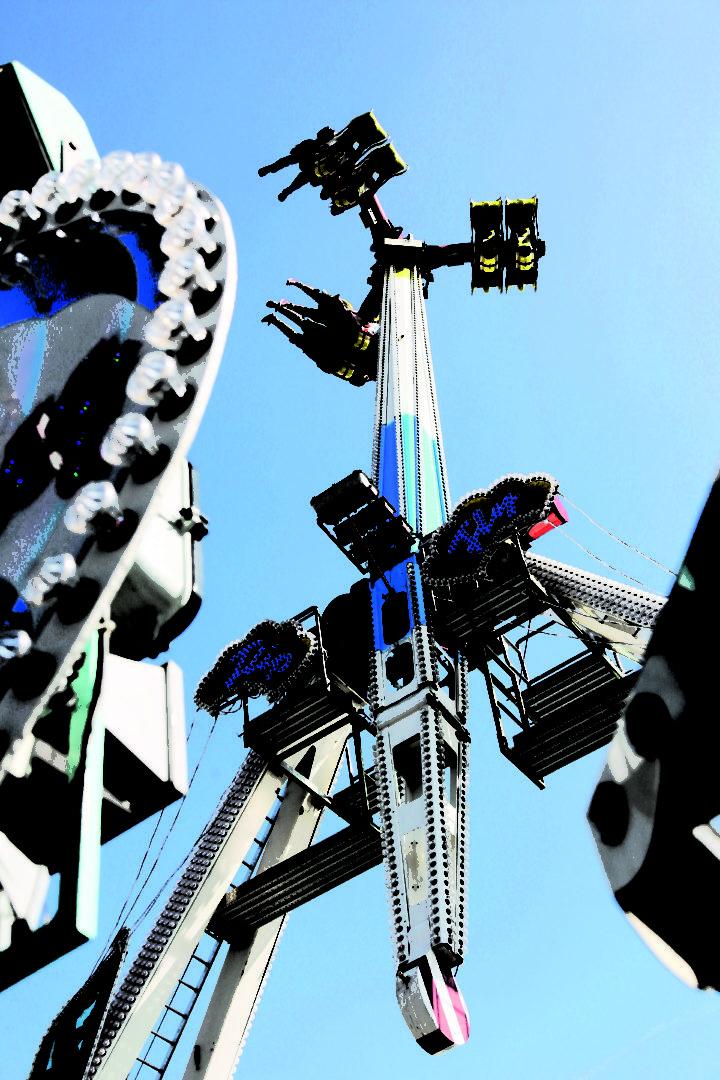 Nr. 1849 Fahrgeschaeft Flip Fly auf dem Muenchner Oktoberfest Foto Tommy Loesch