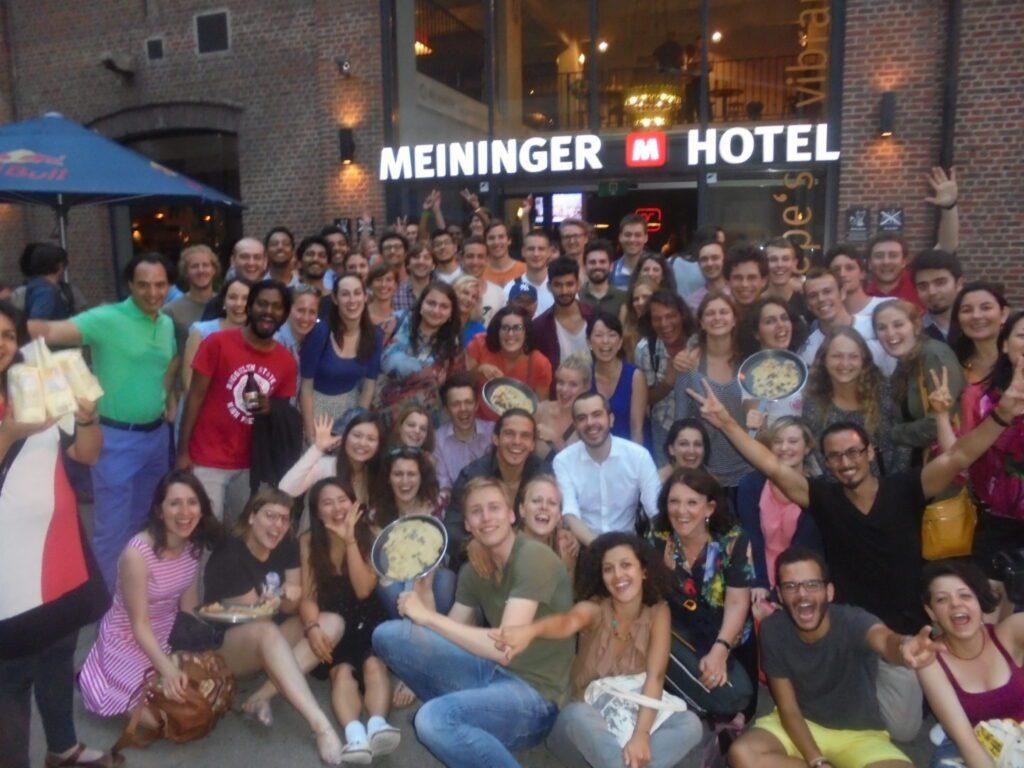 Dutch pancake night in Brussels Meininger