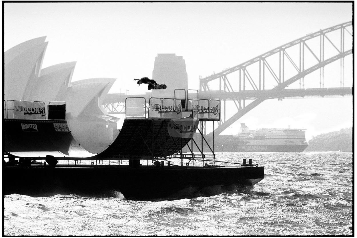 © SKATE THE WORLD Photo byMike O'Meally OMAR HASSAN ~ SYDNEY, AUSTRALIA Trick: Backside air