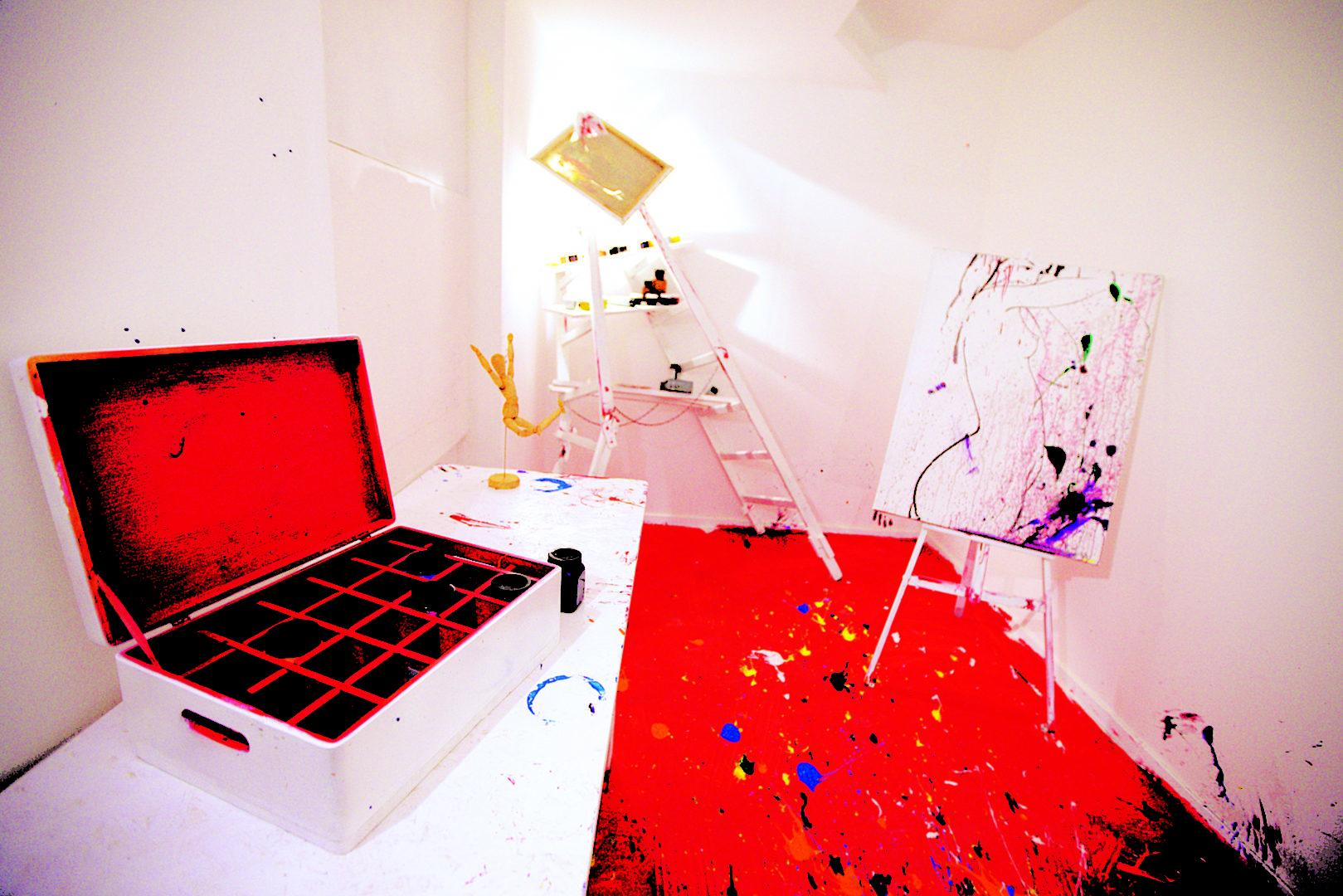 © Escape Game München (verrückter Maler Raum)