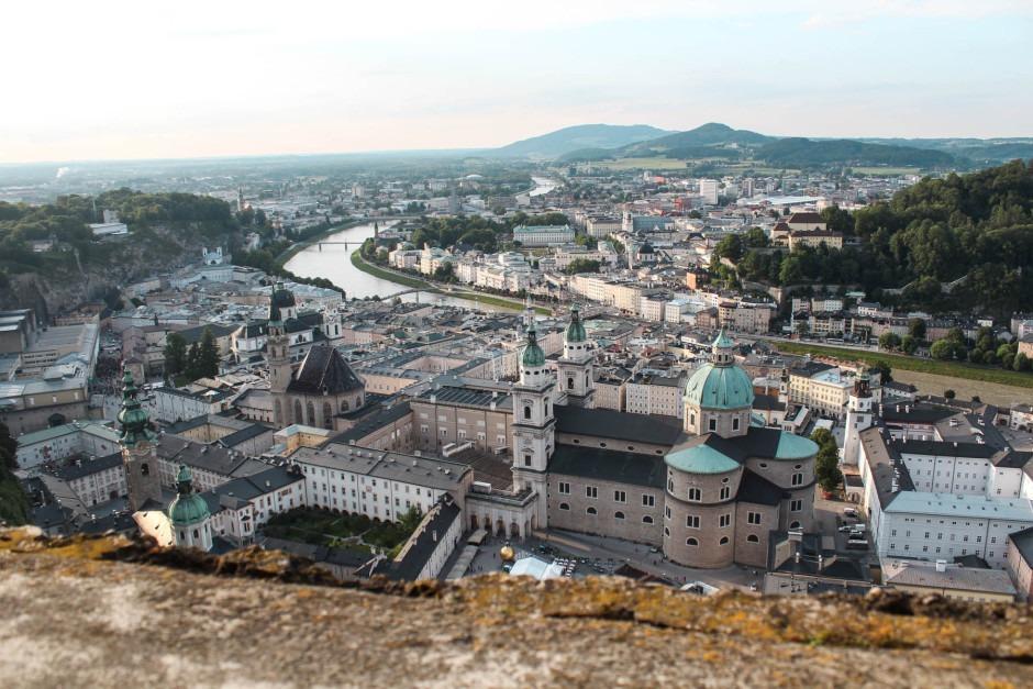 Ein Tag in Salzburg - Blick von der Festung