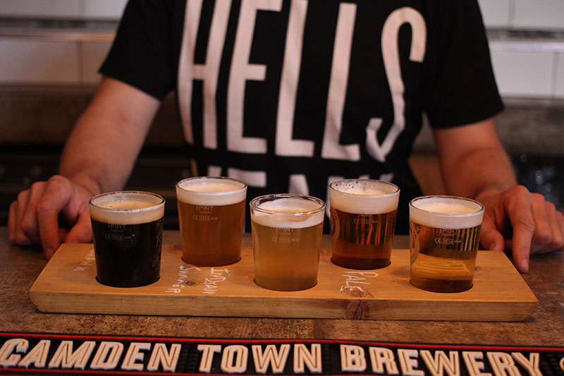 Non touristy Things to do in London - CamdenBrewery