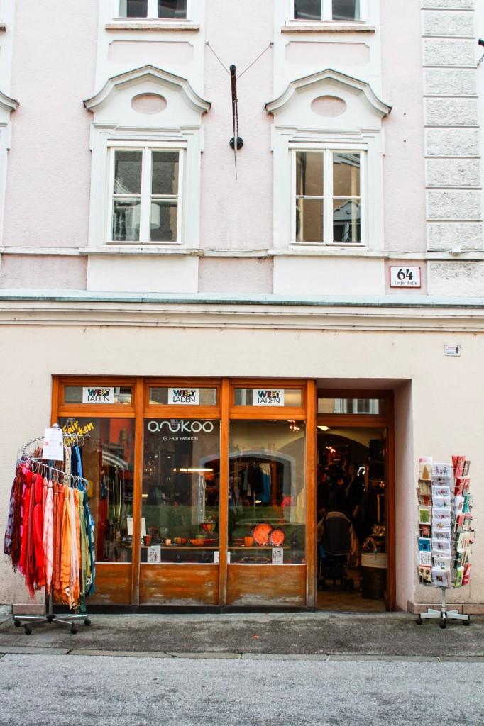 Ein Tag in Salzburg - Eine Welt Laden