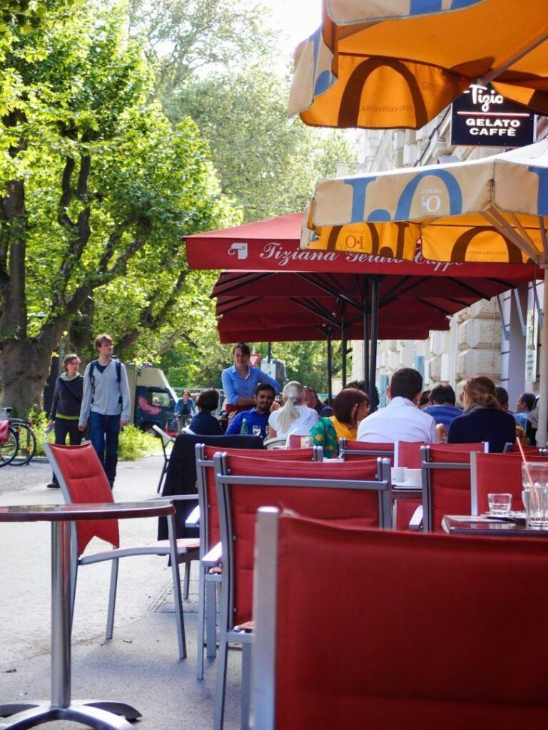 Ein Tag in Salzburg - Franz Josef Stra+ƒe