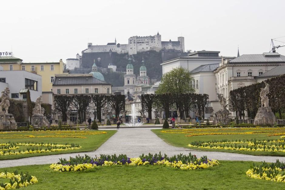 Ein Tag in Salzburg - Mirabellgarten