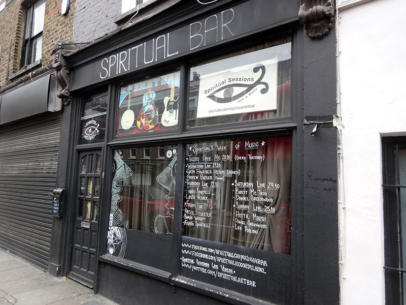 London Insidertipps - SpiritualBar