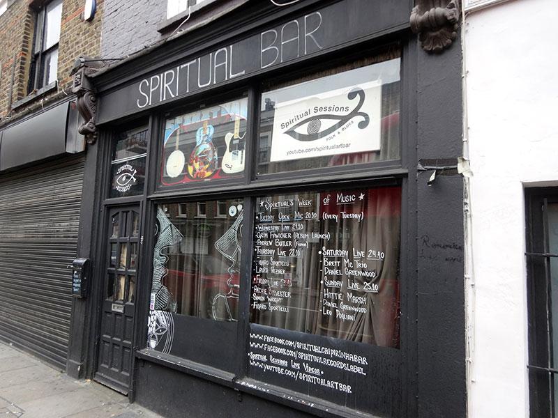Non touristy Things to do in London - SpiritualBar