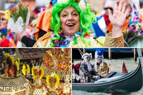 Karneval rund um die Welt