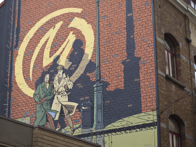 Brüssel Comic Route