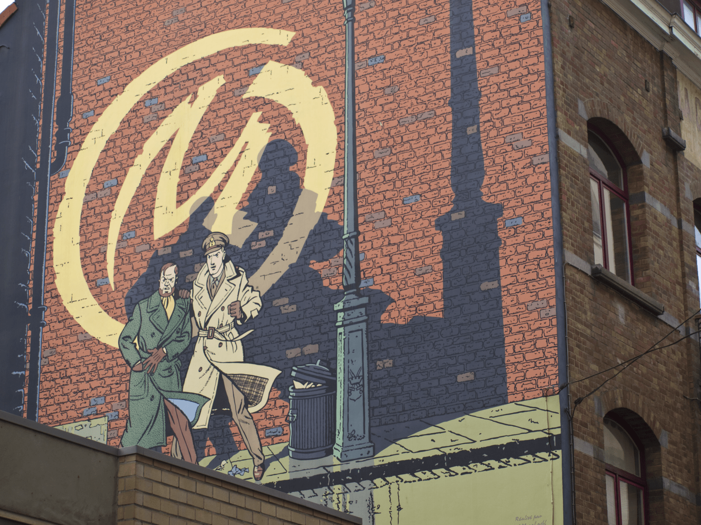 Brussels Comic Book Route
