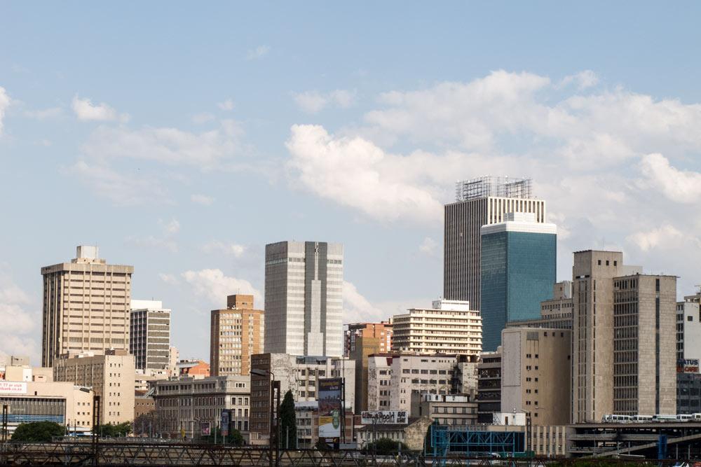 South Africa Guide, Johannesburg Skyline