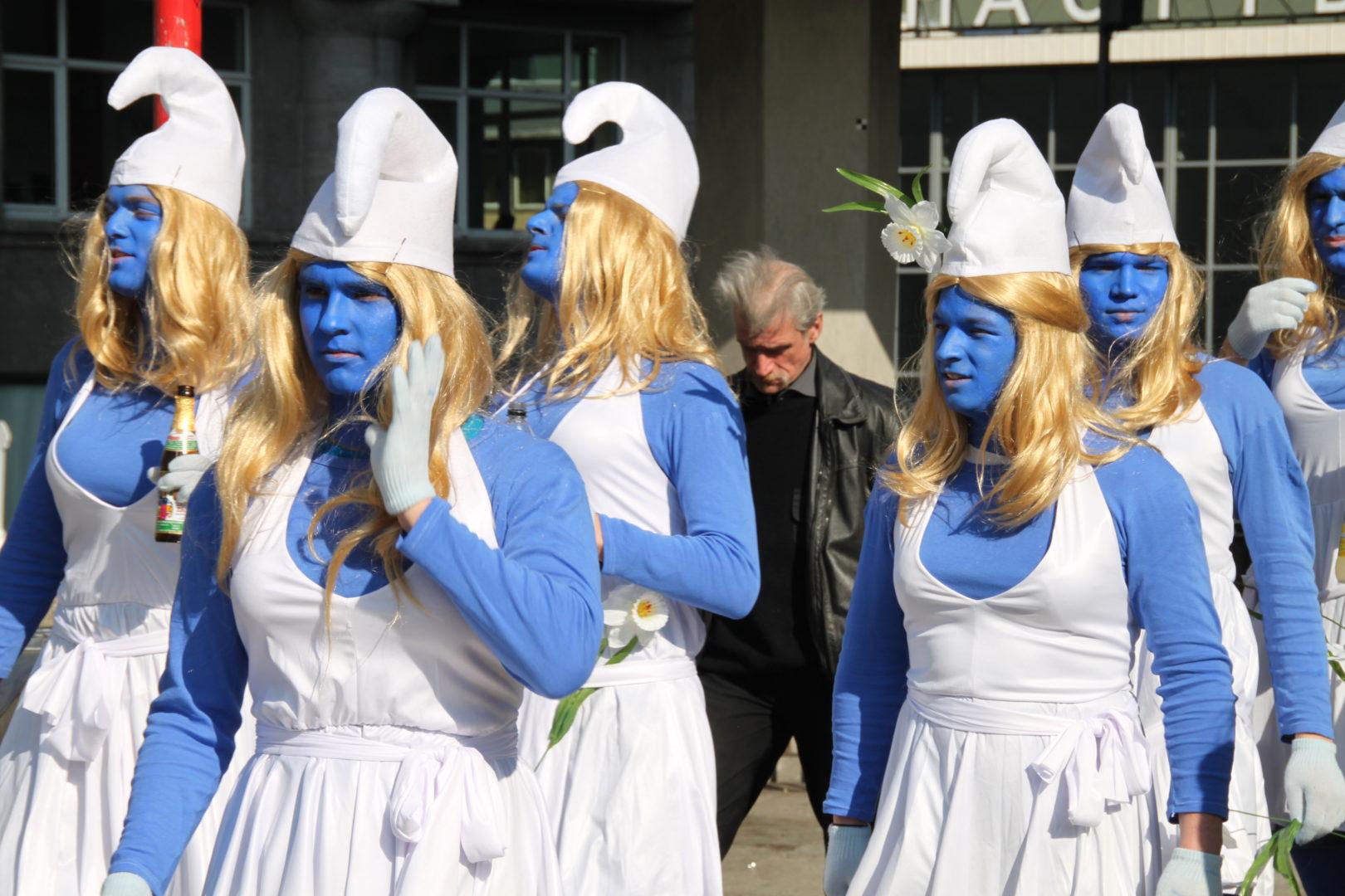 Karneval Schlumpfinen (c) Flickr_Tim Bartel
