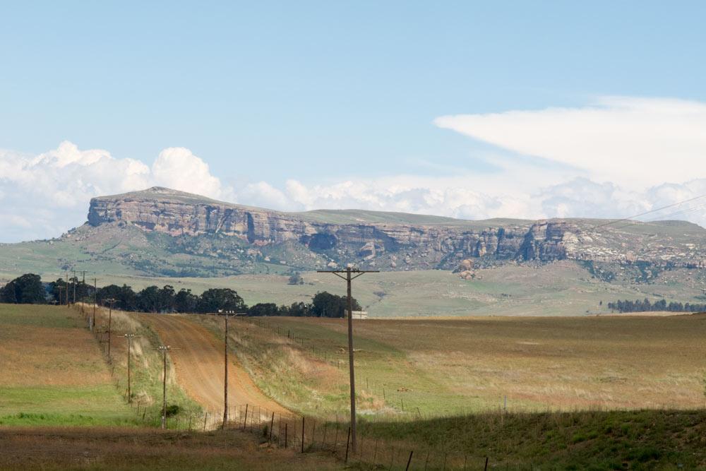 Richtung Drakensberge von Suedafrika aus c Marianna Hillmer