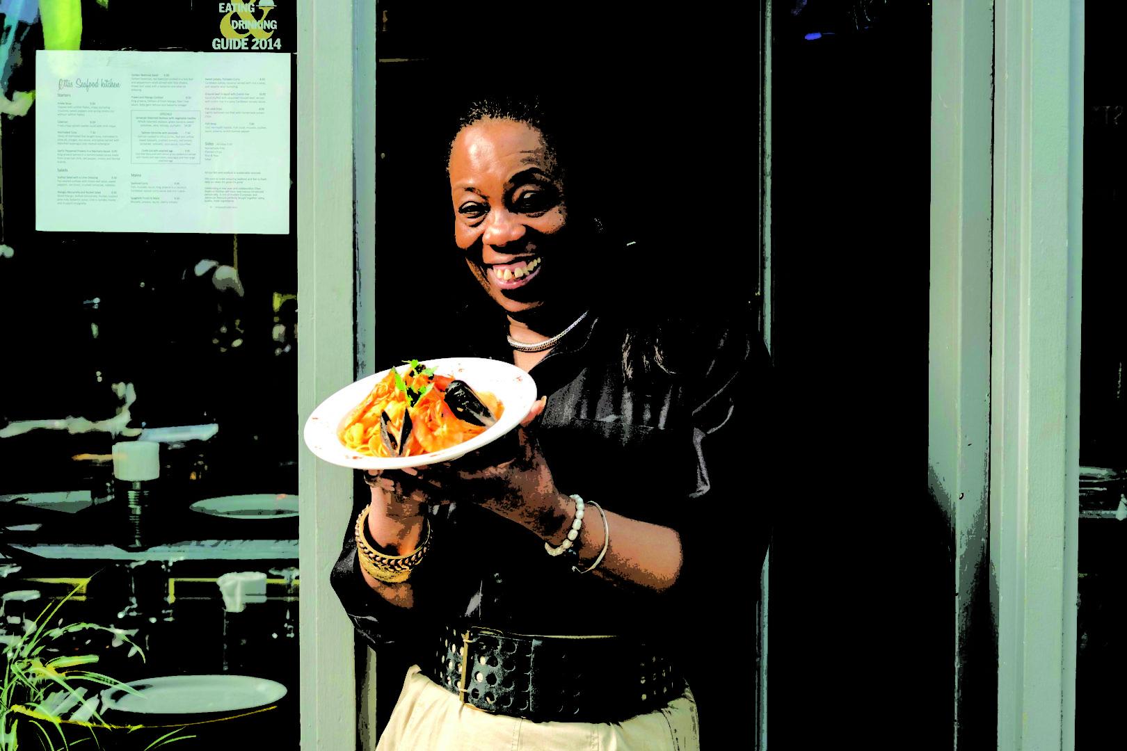 Best food markets in London - Ella, Ella's Seafood Kitchen
