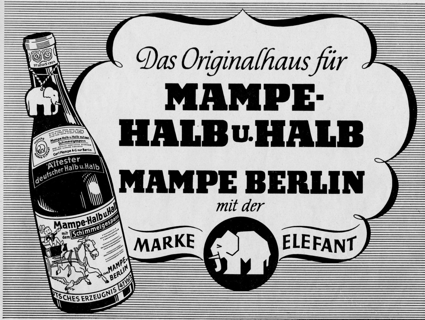 Mampe - Das Berliner Kultgetränk