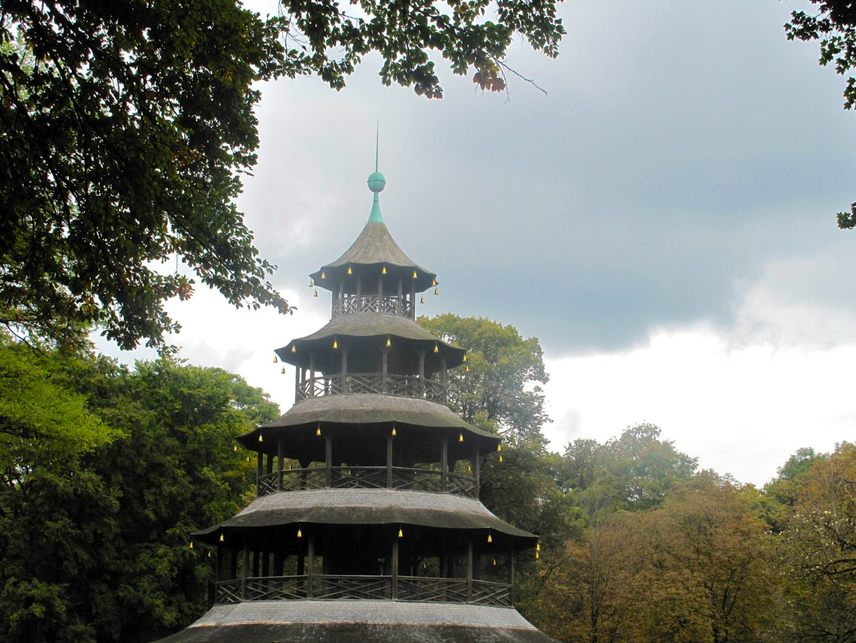Aktivitäten in München, chinese-tower