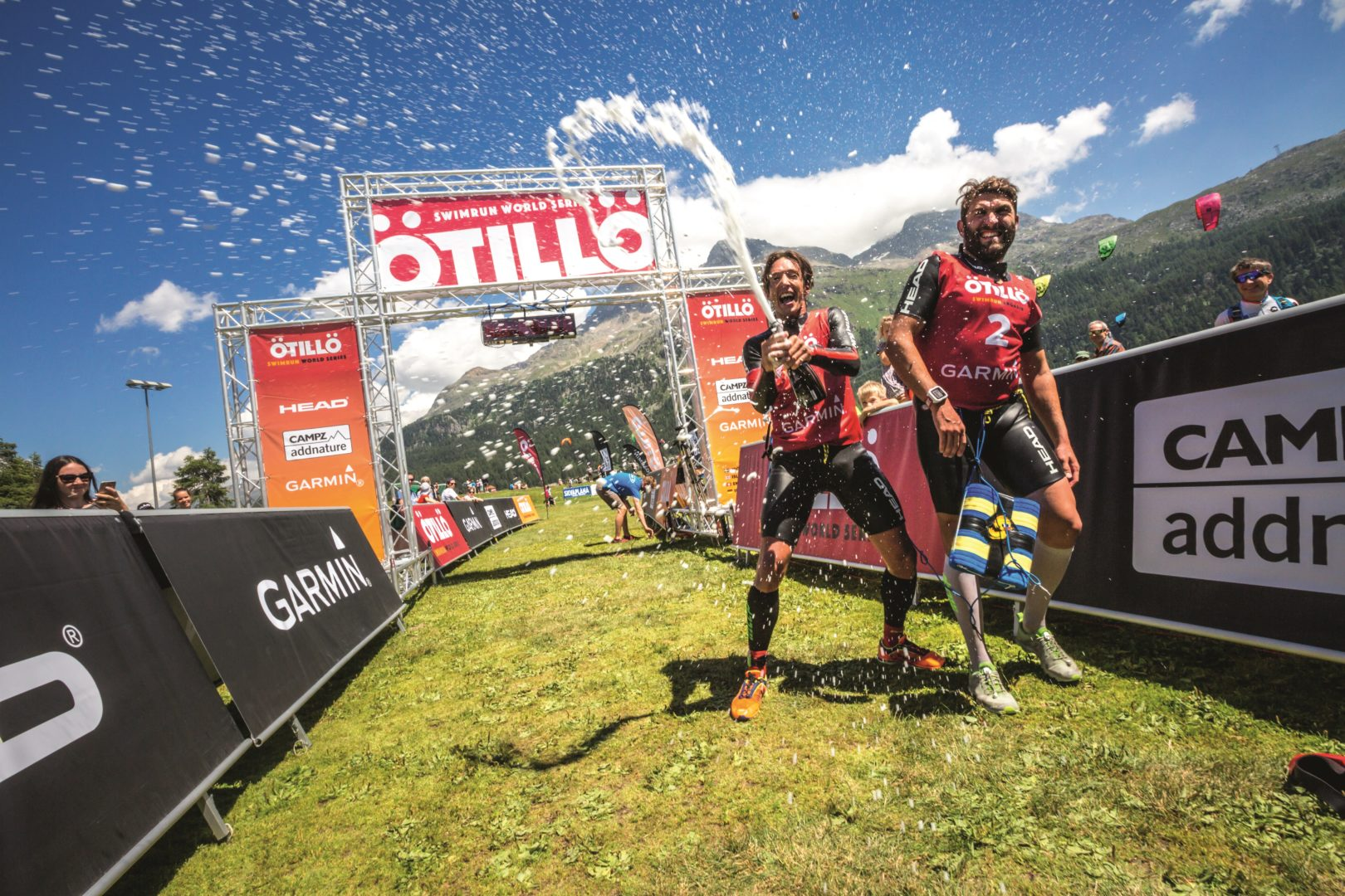 Tough Race in the Swiss Alps