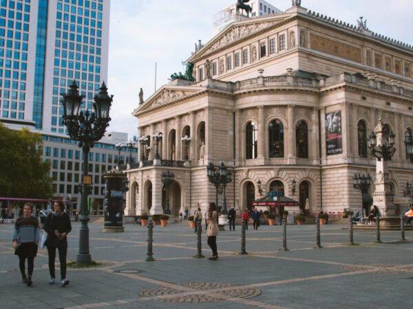 Wochenende in Frankfurt- Frankfurt alte Oper