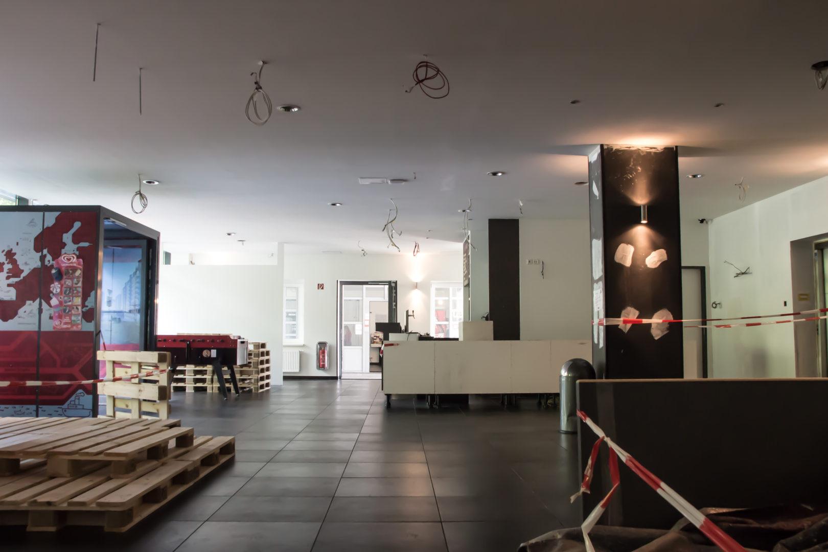 Renovation work in MEININGER Hotel Hamburg