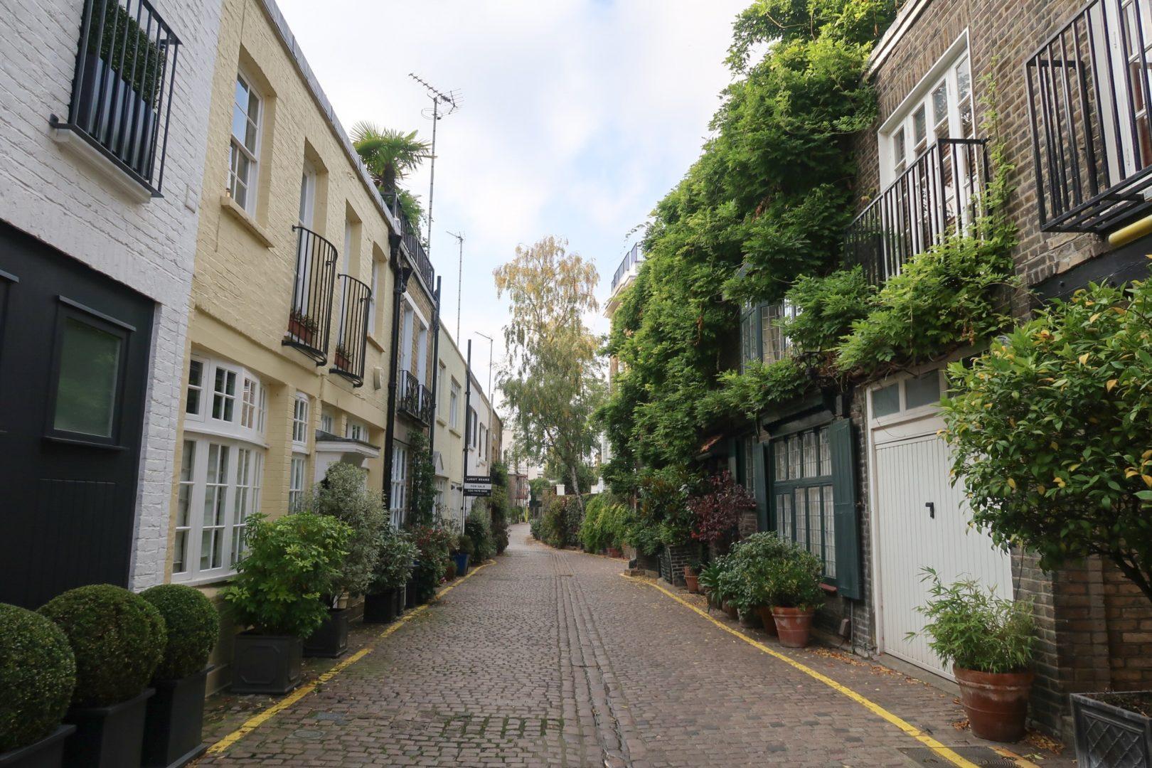 Kensington London - mew houses London