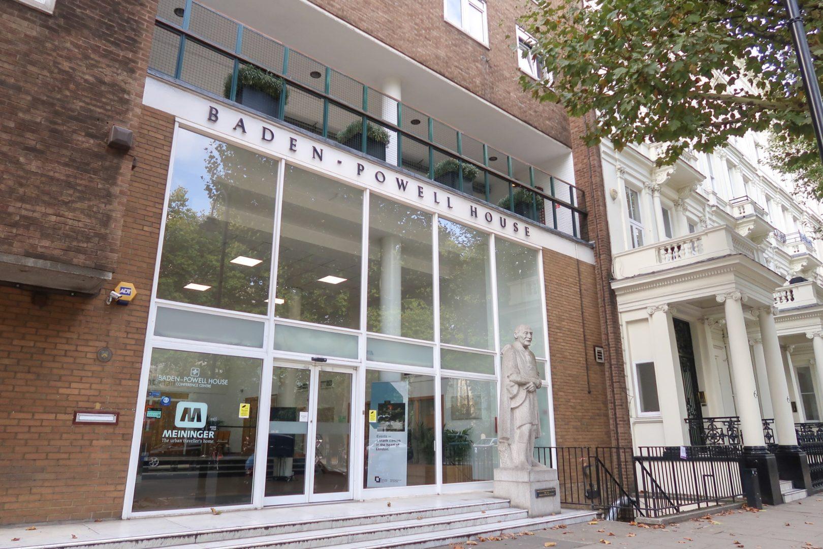 Kensington London - Baden Powell House