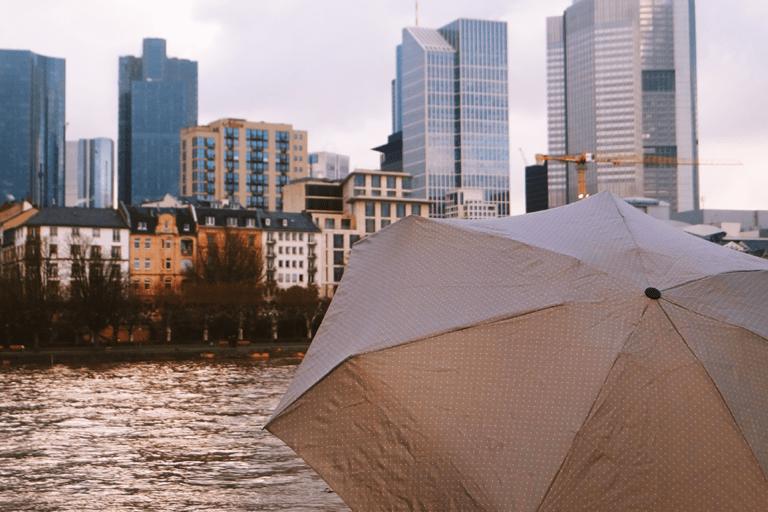 Frankfurt bei Regen