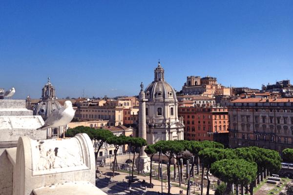 Rome Piazza Foro Traiano