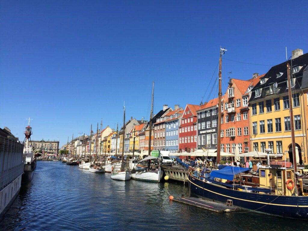 Old Harbour Nyhavn in Copenhagen
