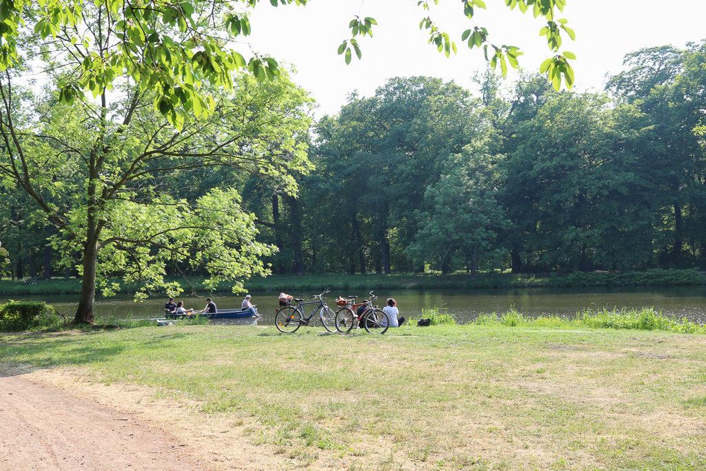 Clara Zetkin Park in Leipzig