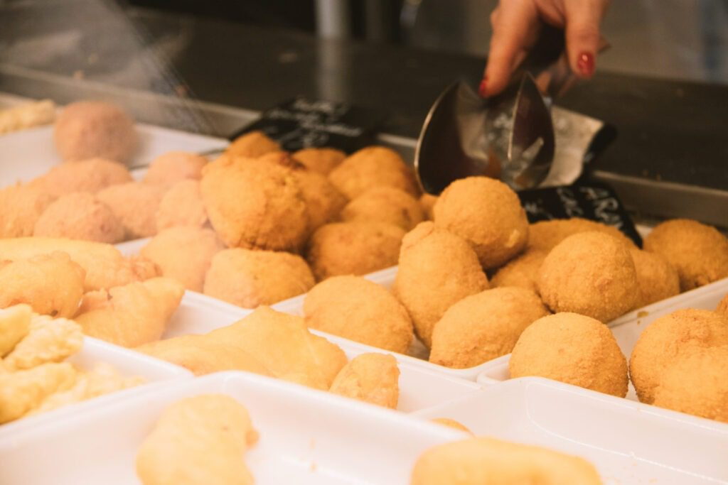 Must Try Foods in Rome, Suppli in Rome