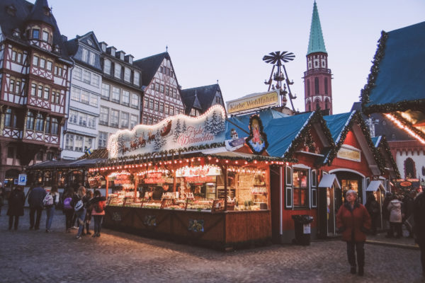 A visit to the Frankfurt Christmas Market