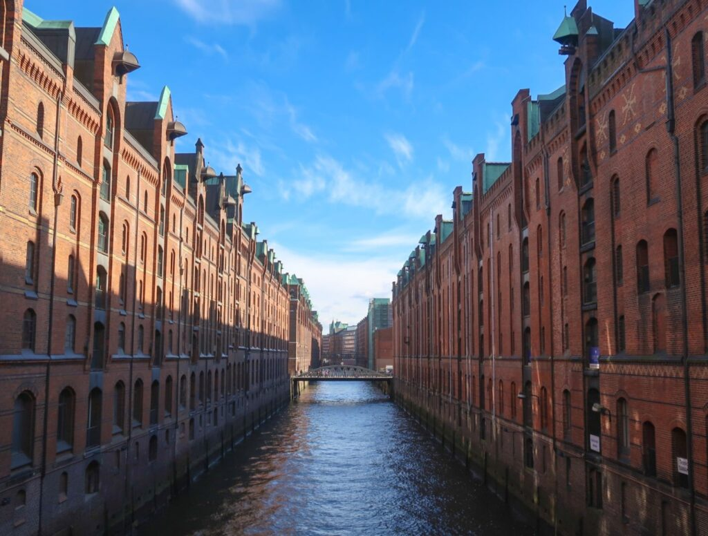 Canals in Hamburg