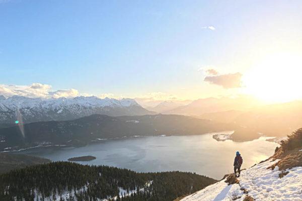 Romantischer Winterausflug Muenchen