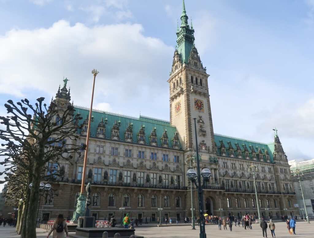 Town Hall Hamburg center