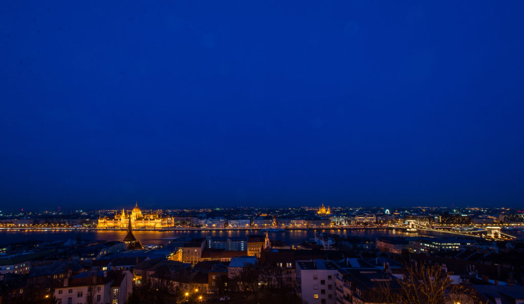 stunning view from Fisherman's Bastion