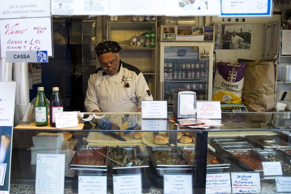 Street Food in Rom