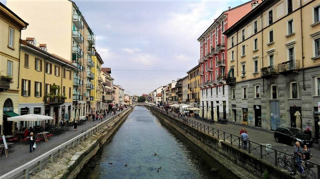 10 facts about Milan, Canals